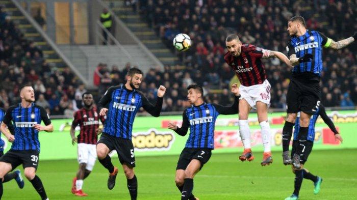 Link Nonton Live Streaming Inter vs Milan di TV Online TVRI & UseeTV Coppa Italia Kick Off 02.45 WIB