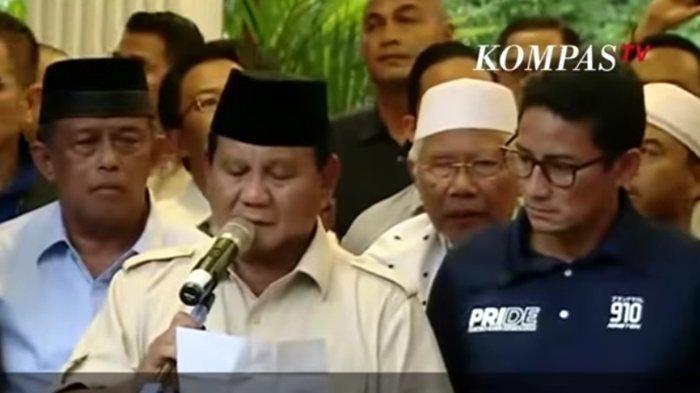 Deklarasi Kemenangan Prabowo-Sandi Sebelum Pengumuman Resmi KPU, AS Hikam Anggap Manuver Politik