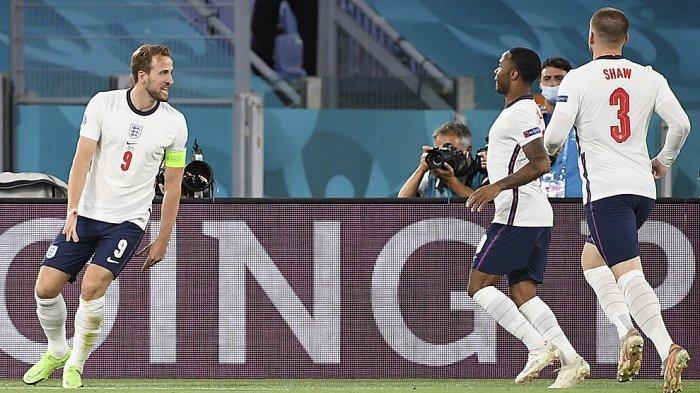 INGGRIS Menang Telak 4-0, Bertemu Denmark di Semifinal Piala Eropa| Italia vs Spanyol
