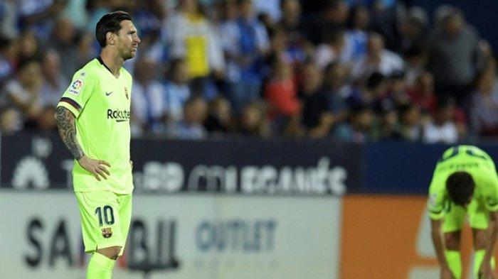 Real Madrid Babak Belur Dihantam Sevilla, Barcelona Dibekap Leganes