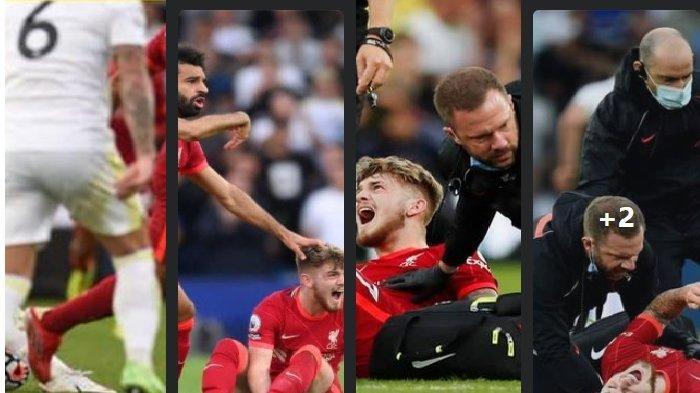 Kemenangan Liverpool vs Leeds Dibayar Mahal, Wonderkid Harvey Elliot Histeris Kena Tekel Horor