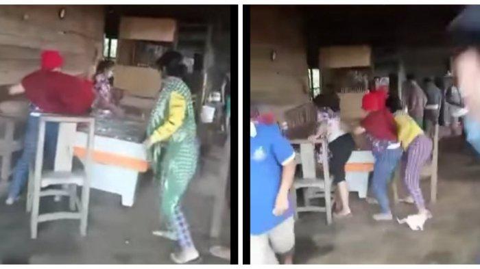 VIRAL di Medsos Emak-emak di Tigabinanga Hancurkan Mesin Judi Tembak Ikan