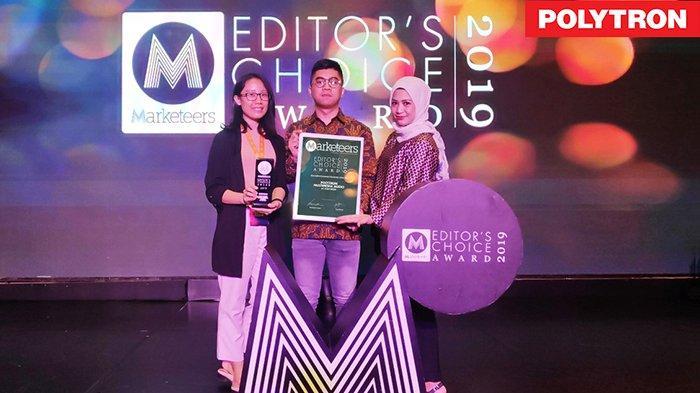 PMA dari Polytron Dianugerahi Innovative Consumer Electronic of The Year
