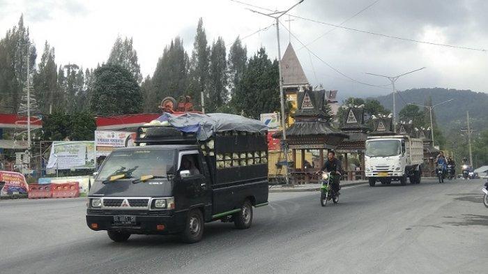 Empat Kecamatan Terdampak Abu Gunung Sinabung, Namanteran dan Merdeka Paling Parah
