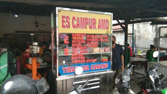 Es Campur Amo: Minuman Andalan Saat Berbuka Puasa di Medan