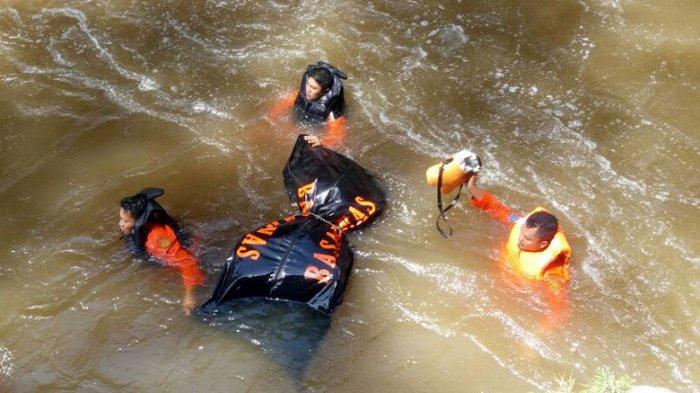 Icen, Korban Tenggelam di Air Terjun Jambuara Ditemukan