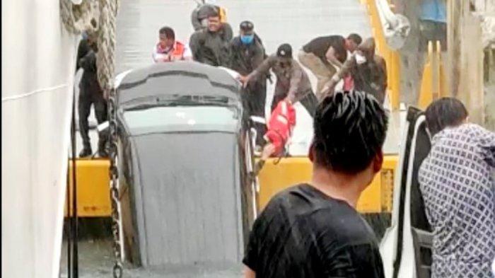Hasil Penyelidikan Kasus Avanza ke Danau Toba, Mesin KMP Ihan Batak Mati saat Bongkar Muat