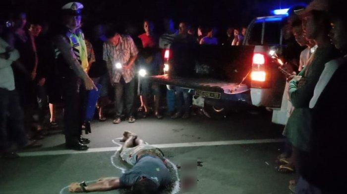 Diduga Korban Tabrak Lari, Pria 26 Tahun Ditemukan Tewas Terlungkup di Tengah Jalan