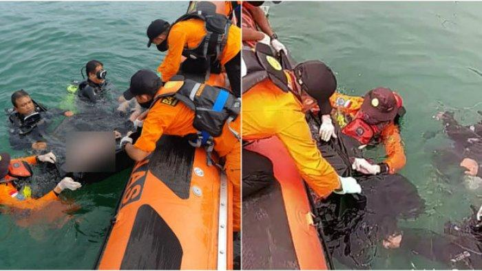 Detik-detik Evakuasi Jasad Korban Tenggelam di Danau Toba, di Tepi Pantai Sang Ibu Menjerit Histeris