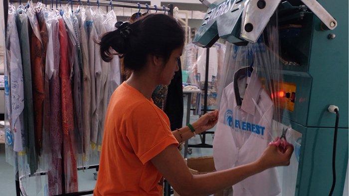 Everest Laundry and Dry Cleaning Gunakan Detergen dan Pewangi Hasil Racikan Sendiri