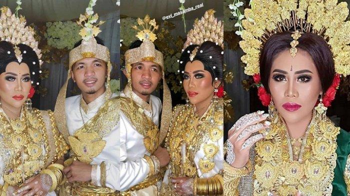 Evi Masamba menikah