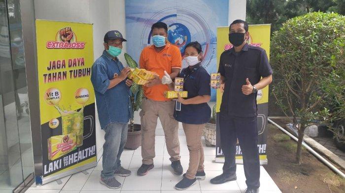 EXTRAJOSS Peduli daya Tahan Garda Terdepan Para Pahlawan Virus Corona
