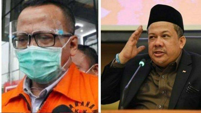 Pengakuan Fahri Hamzah Siap Jadi Tersangka KPK, Isi WhatsApp Edhy Prabowo Dibongkar Jaksa