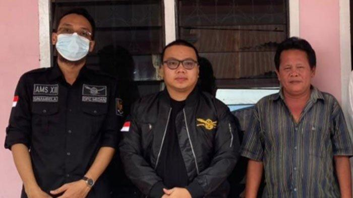 Ketua AMS XII Medan, Fakar Suhartami Tepati Janjinya Renovasi Rumah Julius Simanungkalit