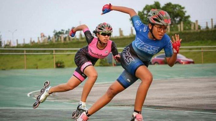 Atlet Sepatu Roda Sumut Latihan di Taman Cadika, Fokus Latihan Teknik dan Fisik
