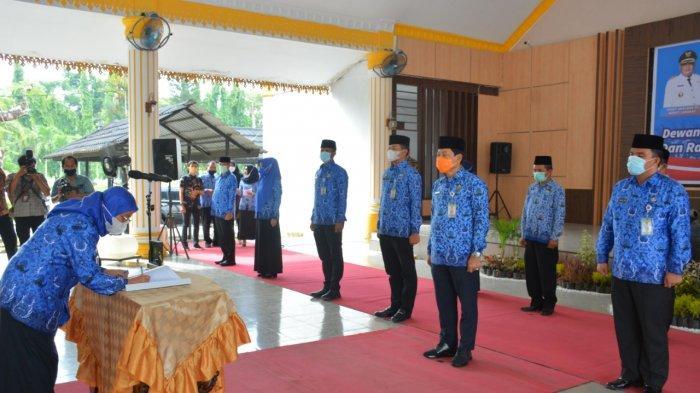 Pemkab Langkat Gelar Pelantikan Dewan Pengurus Korpri, Indra Salahuddin Jadi Ketua