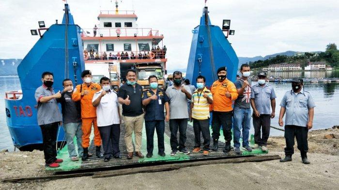 KMP Ferry Tao Toba II Berlayar Perdana, Siap Layani Pemudik Rute Ajibata-Tomok