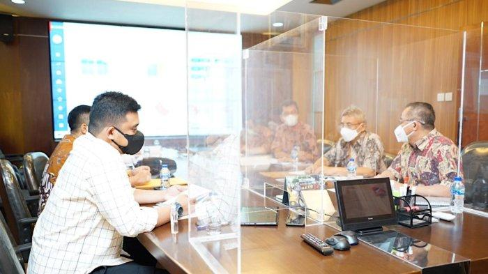 Rapat dengan Dirjen Bina Marga, Bobby Nasution Segera Bangun Dua Underpass