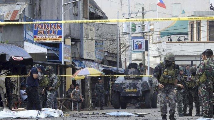 Filipina Ungkap Pembom Bunuh Diri asal Indonesia, Suami Istri di Balik Insiden 2 Bom di Gereja Jolo