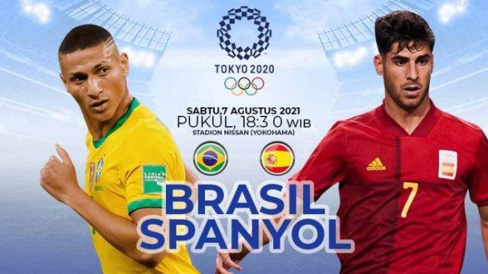 SEDANG BERLANGSUNG Brasil Vs Spanyol, Klik Di Sini Nonton Live Streaming Gratis dari HP