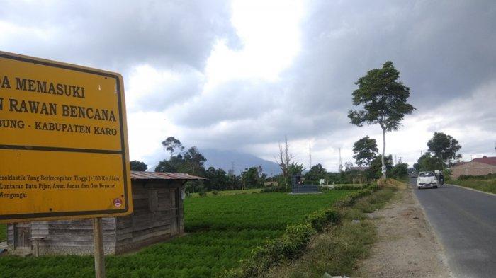 Status Gunung Sinabung Masih Fluktuatif, Sepekan Terakhir Tercatat Beberapa Kali Erupsi