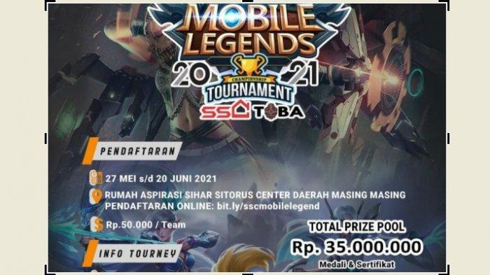 Indonesia E-Sports Association Toba Gelar Turnamen Mobile Legends untuk Menjaring Atlet E-Sports