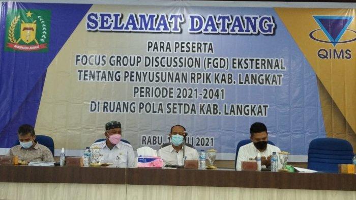 Gelar Fokus Group Discission (FGD) Pembangunan Industri, Kabupaten Langkat Pengin Maju dan Mandiri