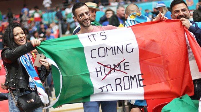 Maaf, Inggris, Sepak Bola Pergi ke Roma