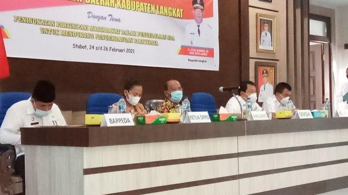 Koordinasikan Pelaku Pembangunan Daerah, Bappeda Langkat Gelar Forum SKPD