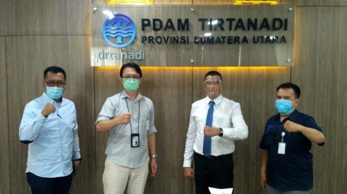 Diskusi Bersama Tribun Medan, Dirut PDAM Tirtanadi Bocorkan Rencana Besar Pengelolaan Air