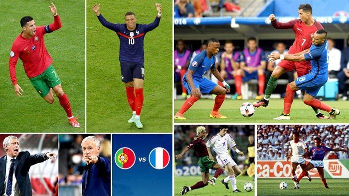 Sesaat Lagi Link Live Streaming Portugal vs Prancis, Deschamps Minta Ronaldo Jangan Sampai Lolos