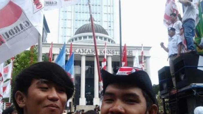 Ratusan Pendukung Prabowo-Hatta Kembali Datangi MK
