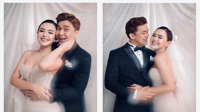 Potret Prewedding terbaru Amanda Manopo dan Billy Syahputra viral di media sosial.