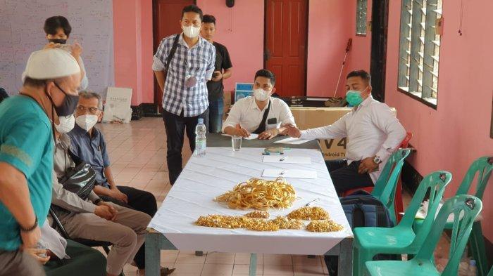 FOTO Tumpukan 6,8 Kg Emas yang Dirampok Seharga Rp 6,5 Miliar yang Berhasil Disita Polisi