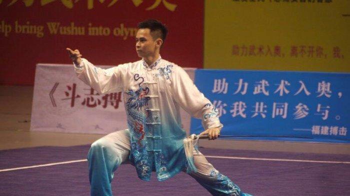 Jelang PON Papua, Atlet Wushu Sumut Ini Fokus Persiapan di Jurus Taijiquan