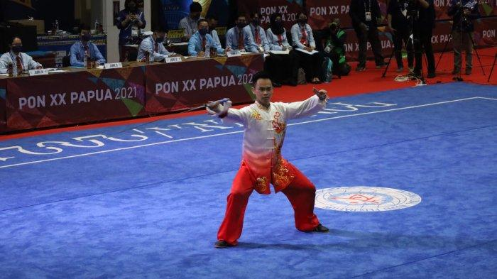 Wushu Mulai Sumbang Medali Buat Sumut di PON 2021, Nicholas dan Fredy Buka 'Kran'