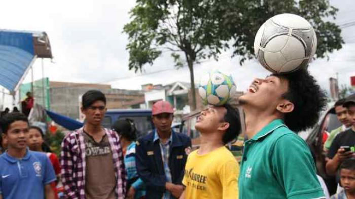 Hari ini Medan Gelar World Freestyle Football Day 2014