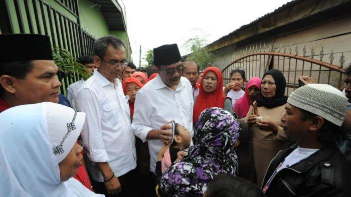 Djarot-Sihar Kunjungi Penderita Stunting di Medan