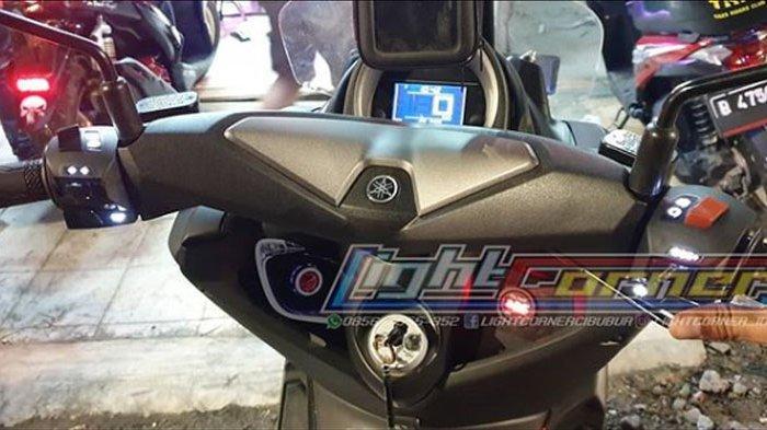 TIPS OTOMOTIF - Bikin Tombol Sakelar Motor Bisa Menyala di Kegelapan