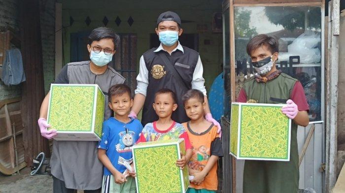Jelang Idul Fitri, Geber Pangan Chapter Medan Bagikan Bingkisan Lebaran kepada 41 Anak Yatim
