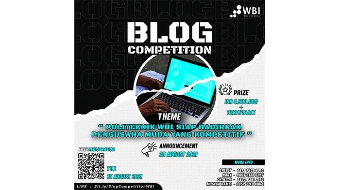 Launching Prodi Teknologi Rekayasa Perangkat Lunak, Politeknik WBI Gelar Blog Competition untuk Umum