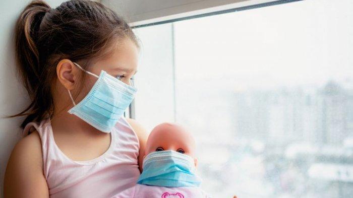GEJALA COVID Varian Delta pada Anak, Selain Sakit Perut hilang Selera Makan, Cek Selengkapnya