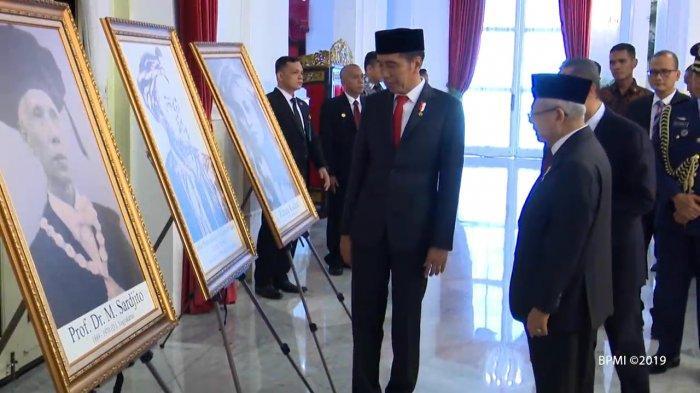 Nama-nama 6 Tokoh yang Dianugrahi Gelar Pahlawan Nasional oleh Presiden Jokowi