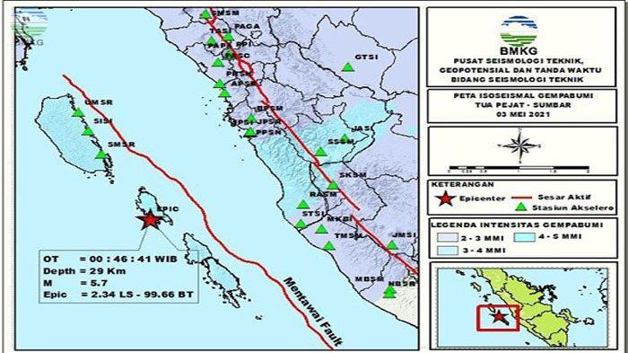 Pulau Nias Diguncang Gempa Dahsyat dan Beruntun, Terasa di Berbagai Wilayah Sumut hingga Padang