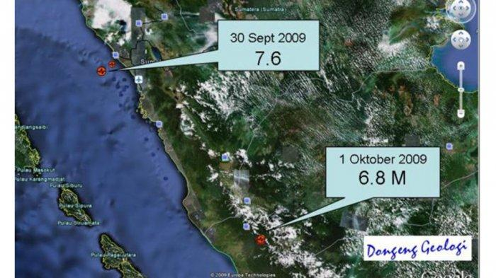Siklus Gempa Besar 20 Tahunan Sumbar, Penjelasan Kepala BNPB, Gempa Nias - Mentawai Gempa Pembuka?