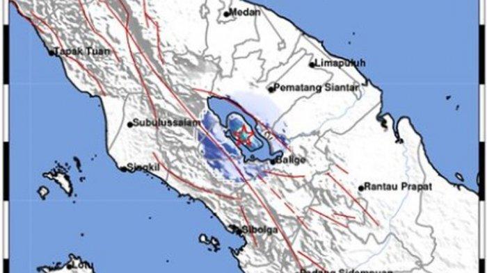 Samosir Makin Sering Diguncang Gempa Bumi, Hari Ini Sudah Terjadi 4 Kali, Begini Penjelasan BMKG