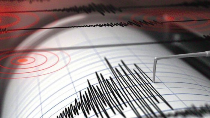 GEMPA - BMKG Catat Gempa Guncang Maluku Kekuatan Mag 6,4 SR Pagi Tadi, Dirasakan juga di Sorong