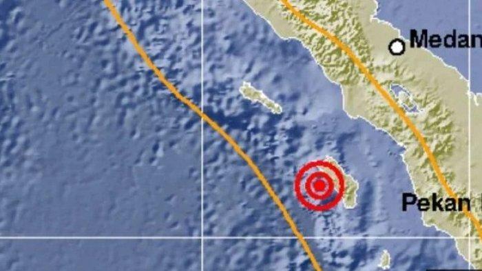KONDISI Terkini Nias Barat selepas Guncangan Gempa 7,2 pada SR, Kepala BPBD: Tidak Ada Korban Jiwa