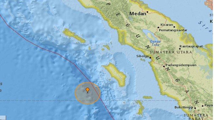 Tak Berpotensi Tsunami, Nias Selatan Digunjang Gempa Bermagnitudo 5,8