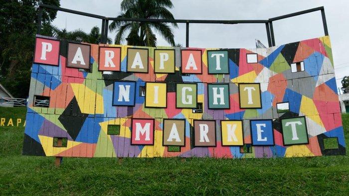 Parapat Night Market Sepi Pengunjung, Pedagang Bilang Tidak Menguntungkan!